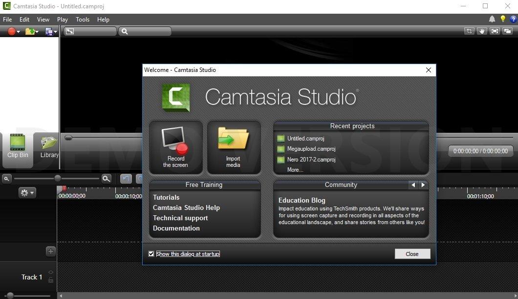 Camtasia Studio image 8