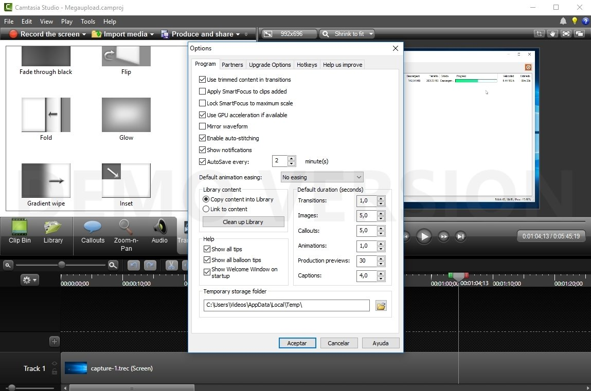free download camtasia 8