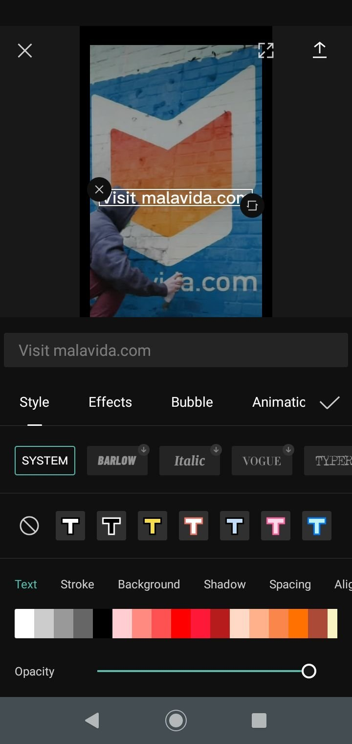 Android video editing software free download