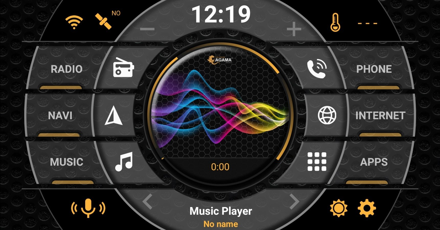 Car Launcher AGAMA 2 3 4 - Download for Android APK Free