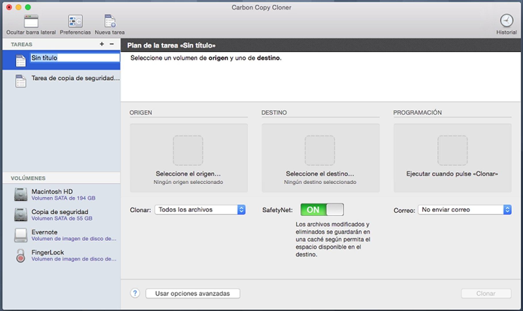 carbon copy cloner 5 1 6 mac用ダウンロード無料