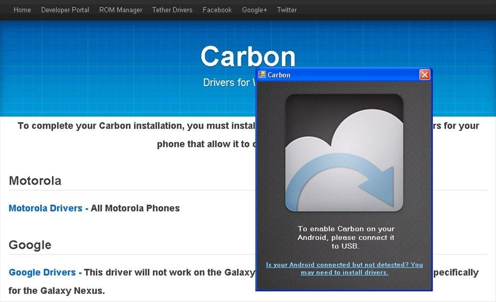 Скачать программу carbon desktop