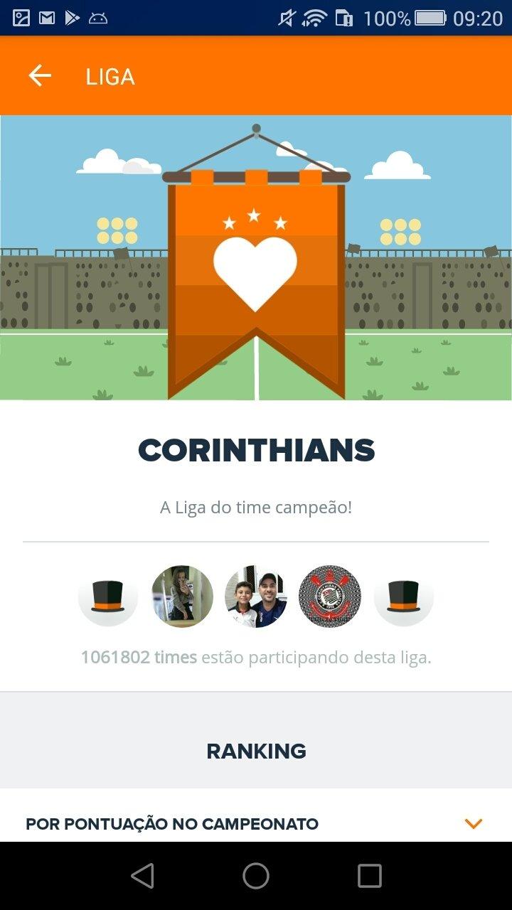 ANDROID BAIXAR APLICATIVO DO PARA CARTOLAFC
