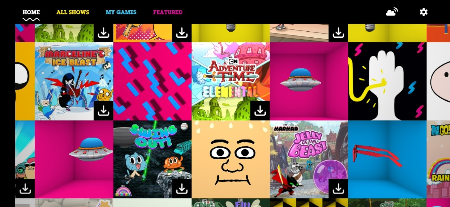 Cartoon Network Gamebox 1 2 97 Download For Android Apk Free