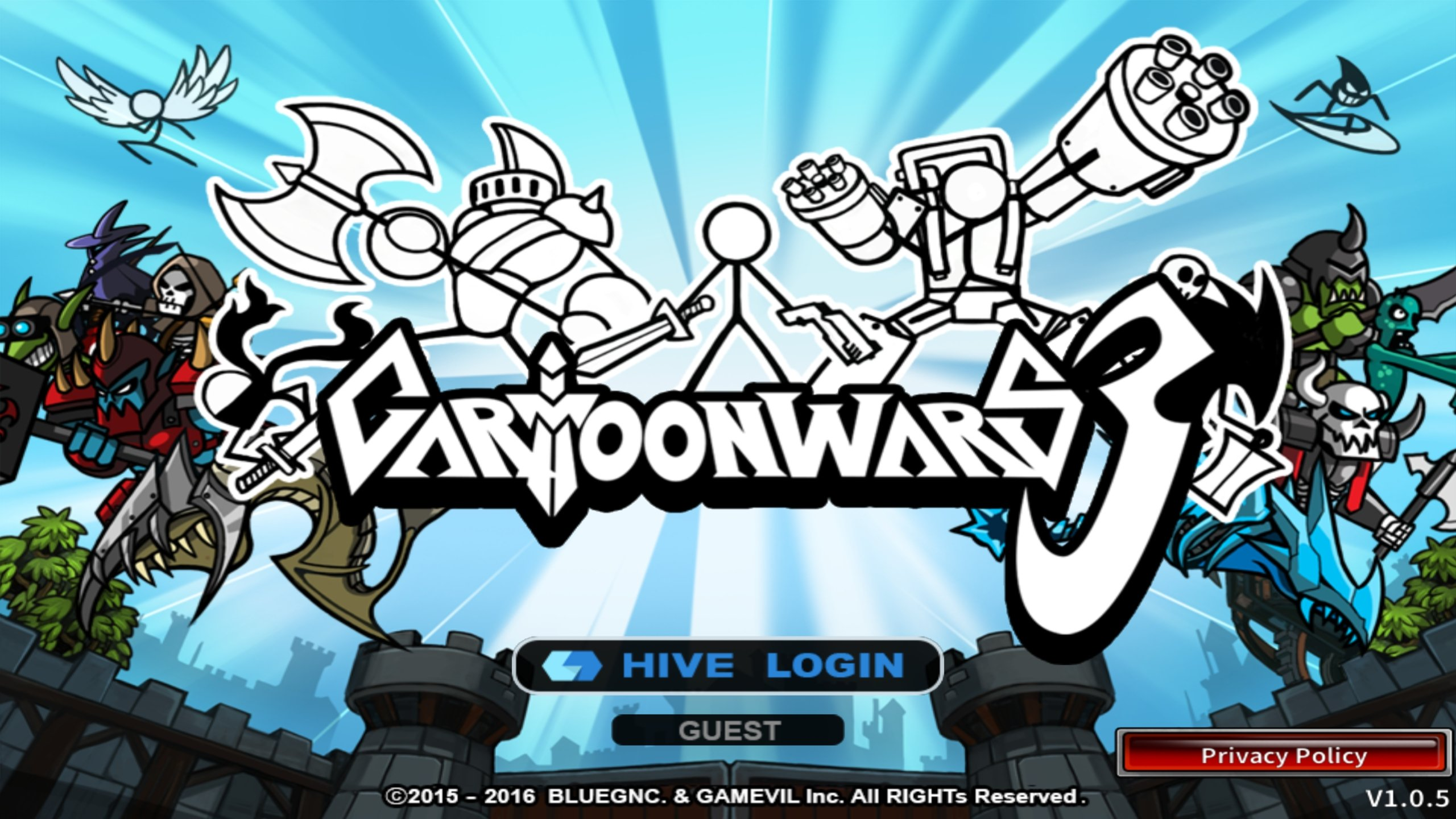 Download Cartoon Wars 3 Android free