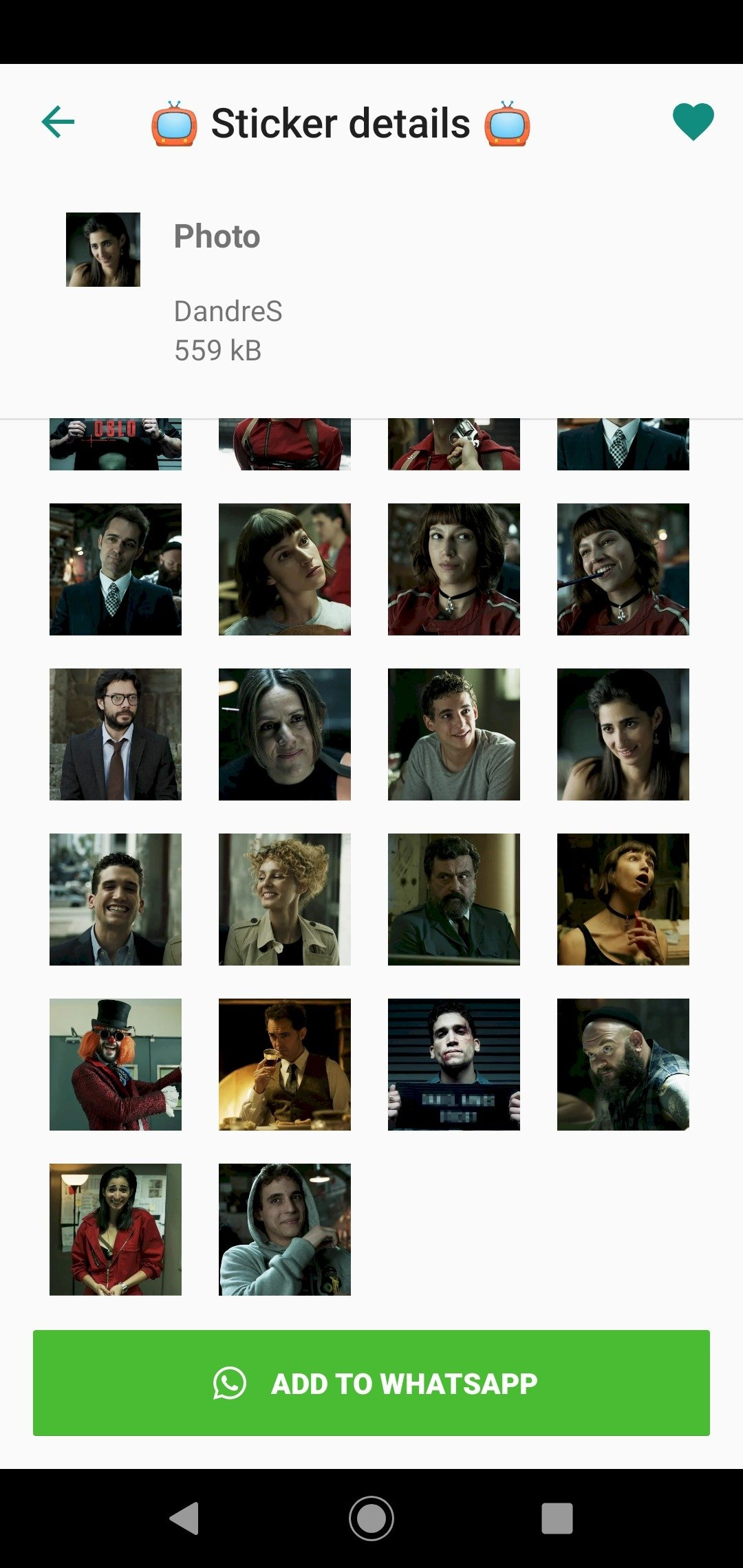 Money Heist Stickers 1 0 1 - Download for Android APK Free