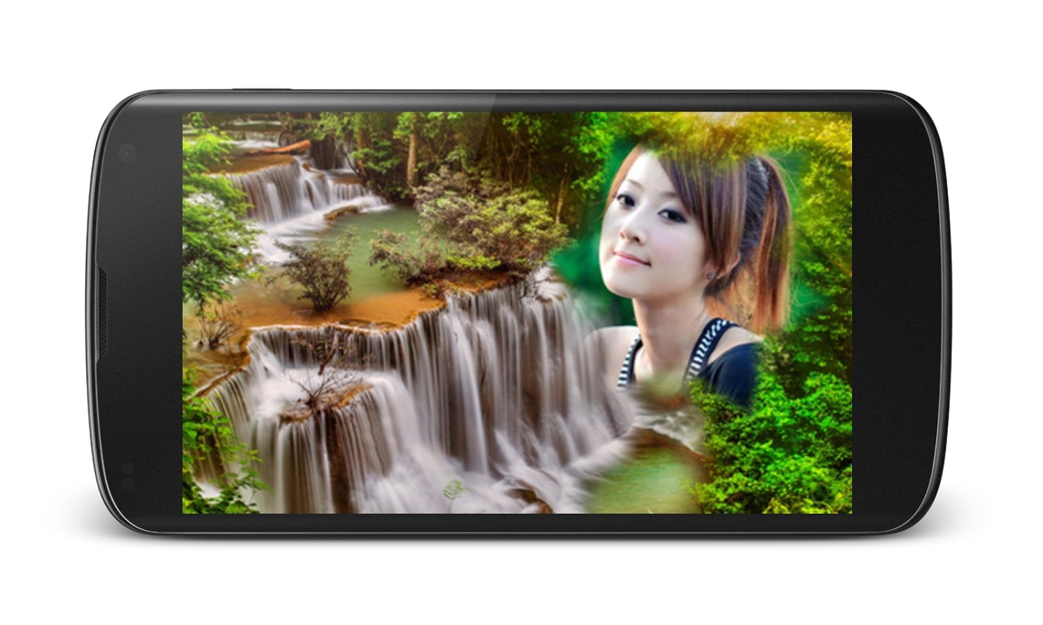 Waterfall Photo Frames Android image 4
