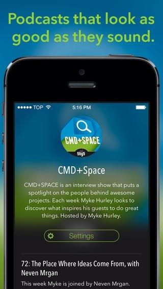 Castro iPhone image 5