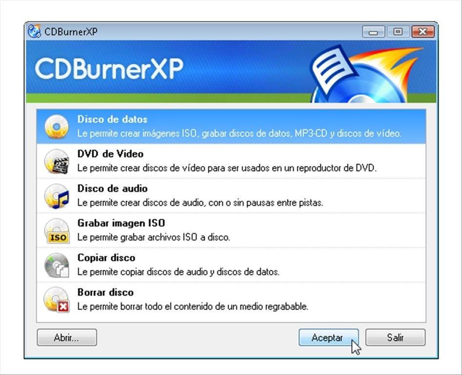 CDBurnerXP image 6