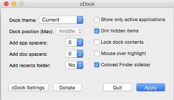 cDock Mac image 4