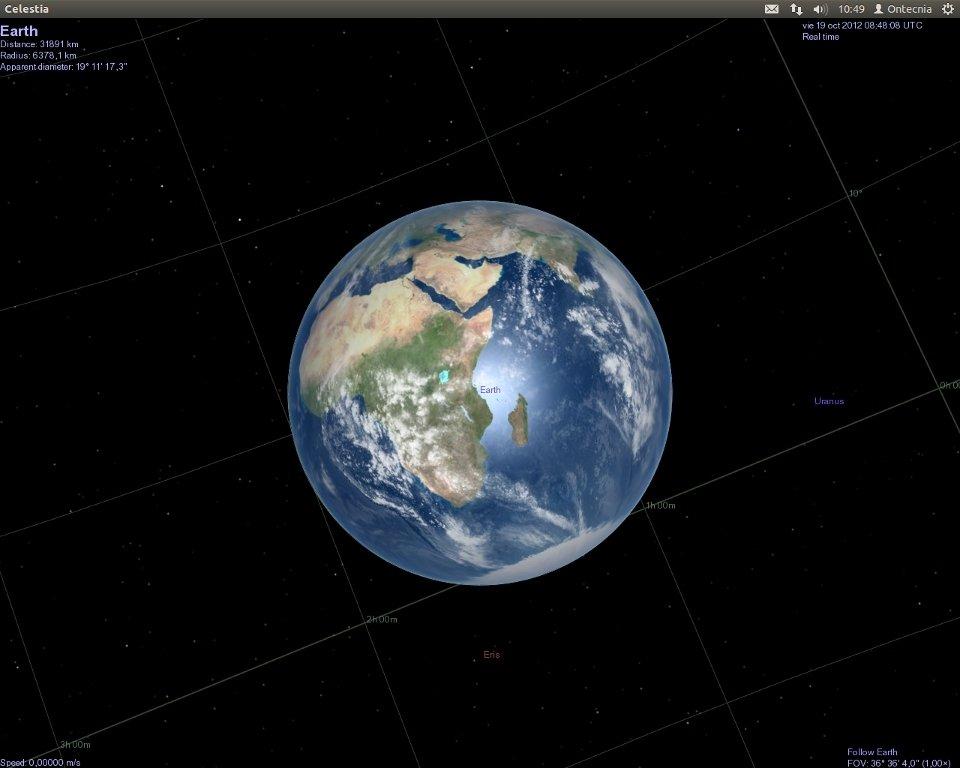 Celestia Linux image 6