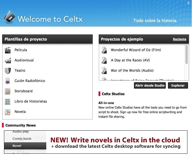 celtx 2.9 7 free download mac