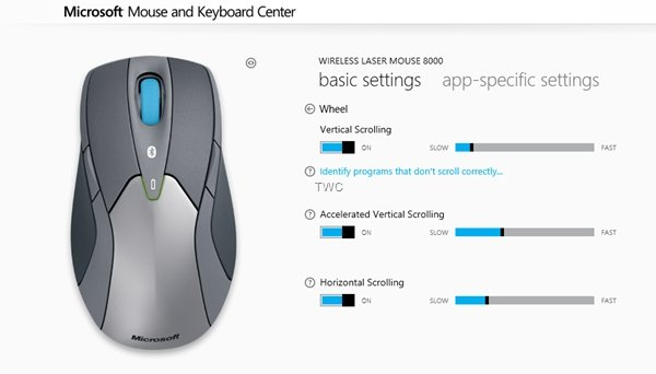 Mouse and Keyboard Center image 2