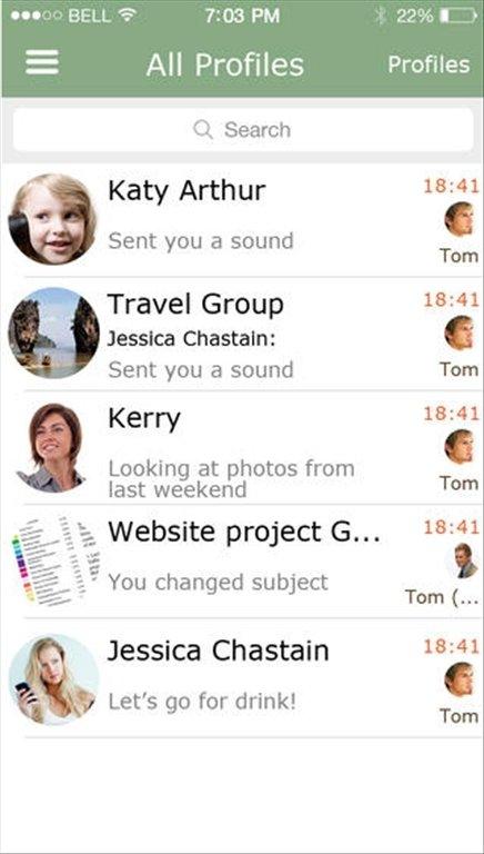 Chaatz iPhone image 5