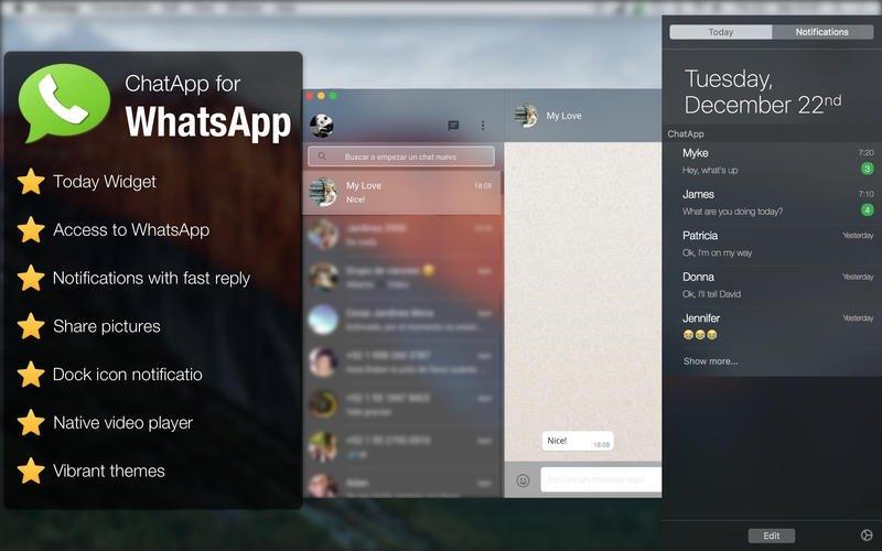 ChatApp for WhatsApp Mac image 3