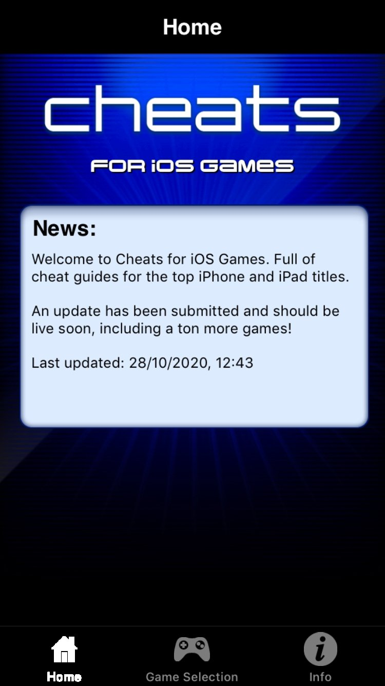 Cheats - Mobile Cheats for iOS Games - Download for iPhone Free