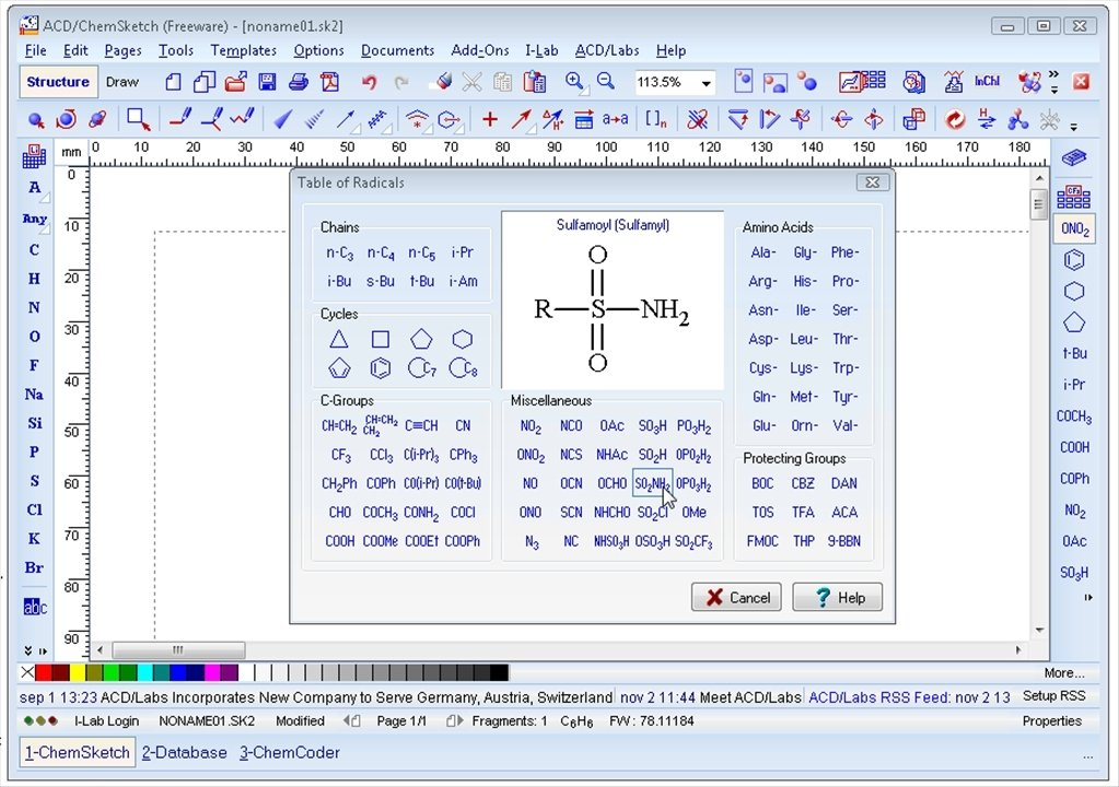 chemsketch software free download for windows 10