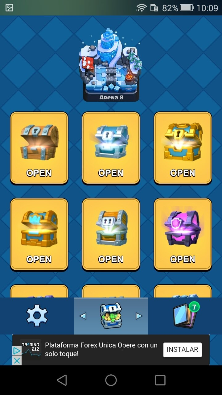Chest Clash Royal Simulator Android image 6