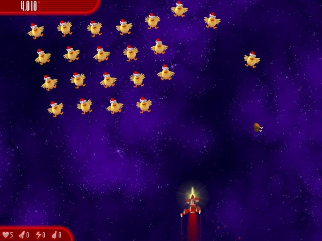 Chicken invaders 4 gratis completo
