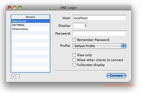 Chicken Vnc Client