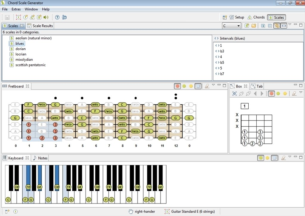 Chord Scale Generator 1 4 - Download for PC Free