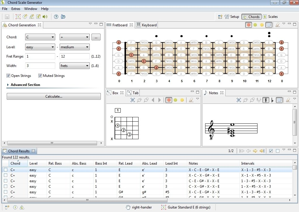 Download Chord Scale Generator 1.3 for PC - Free