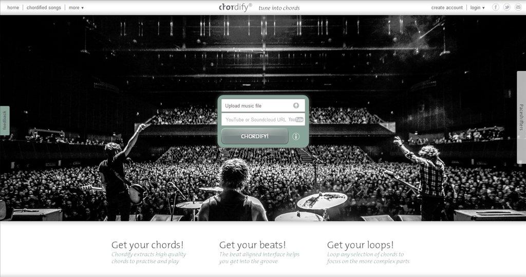 Chordify Webapps image 5