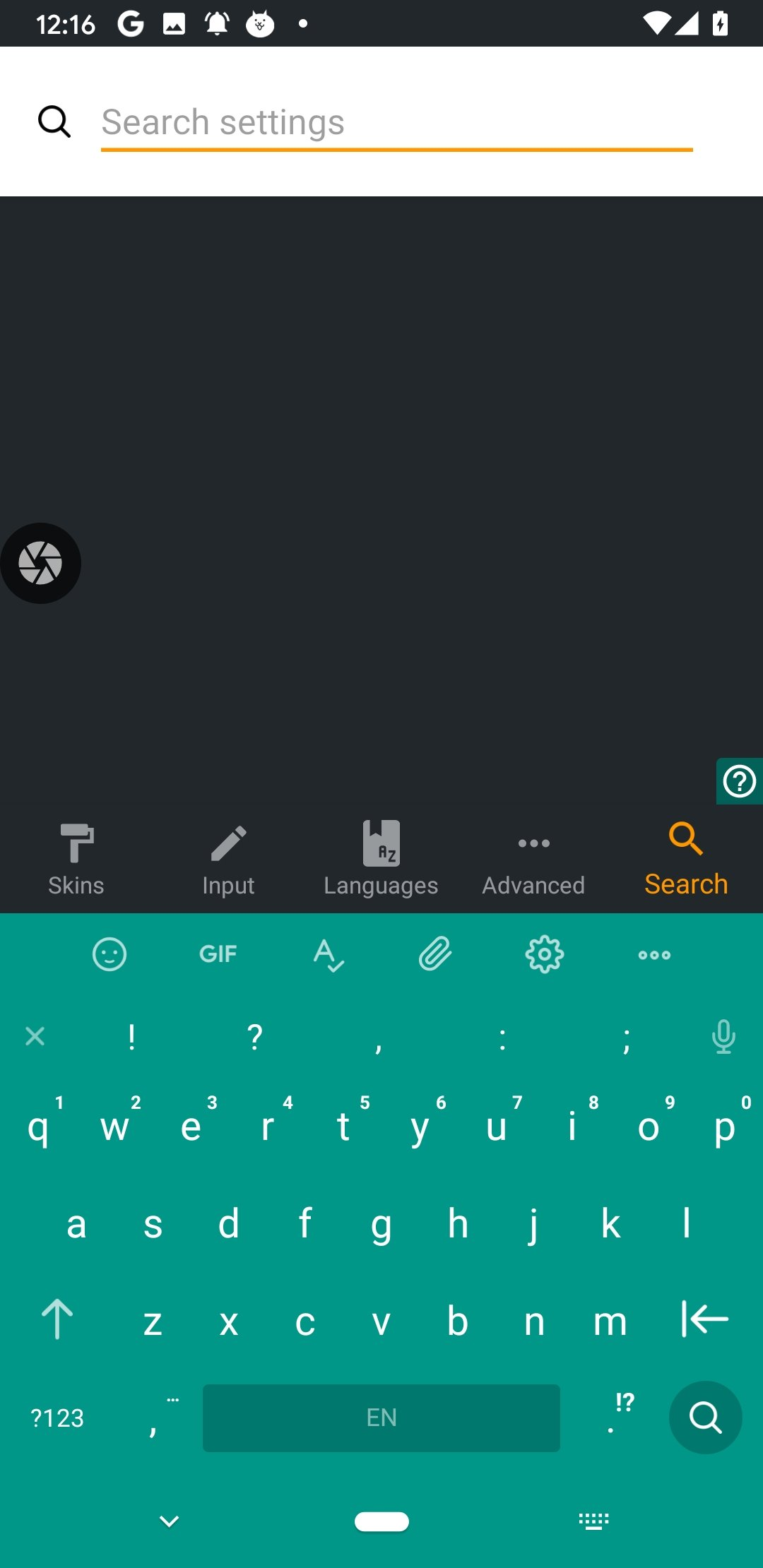 Chrooma Keyboard Android image 7