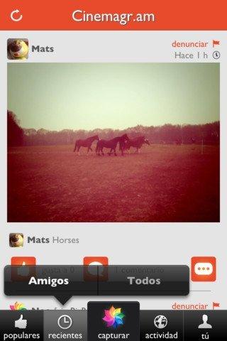 Cinemagram iPhone image 5