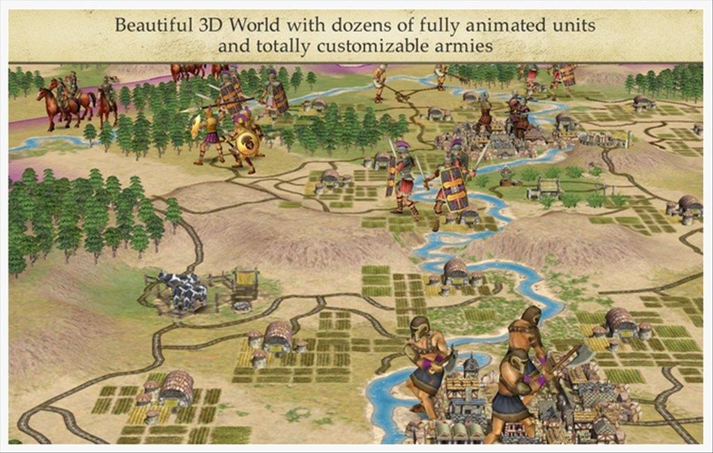 Screenshots of Civilization IV