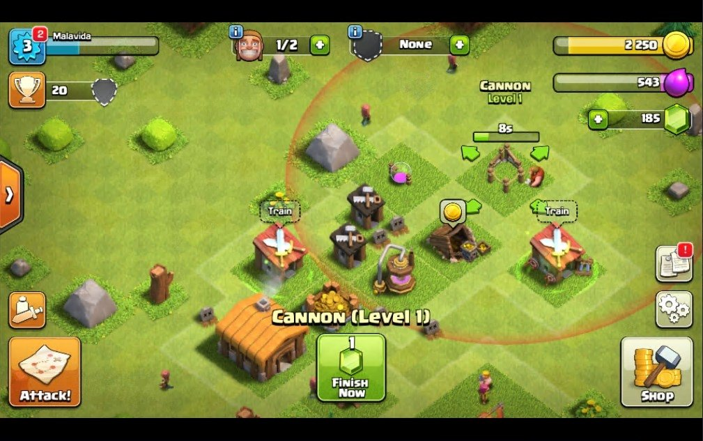 Clash of clans 11. 185. 15 download for pc free.