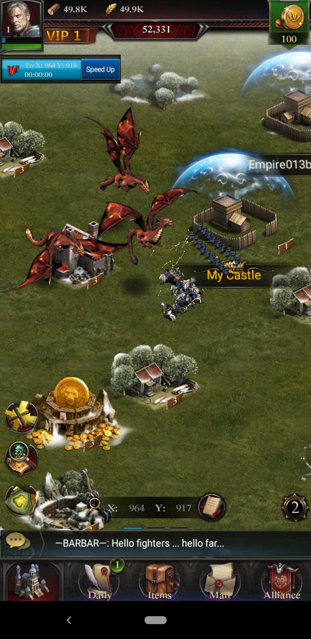Clash of Kings Android image 4