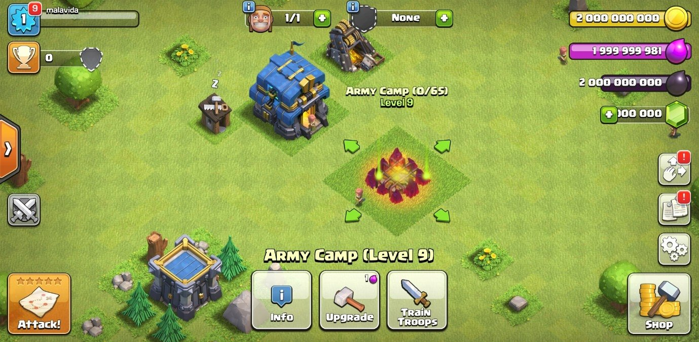 download clash of clans mod di android 1