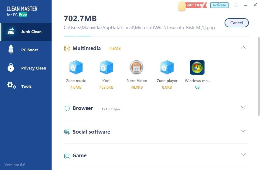 Clean Master 6 0 - Download for PC Free