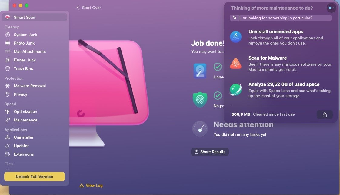 cleanmymac classic free full version