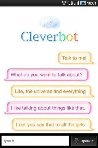 Cleverbot Android image 3