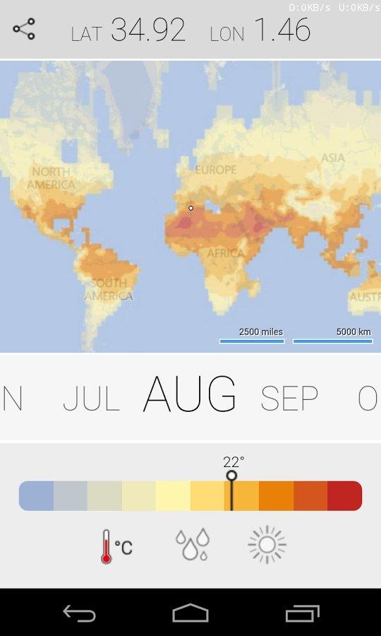Climatology Android image 4