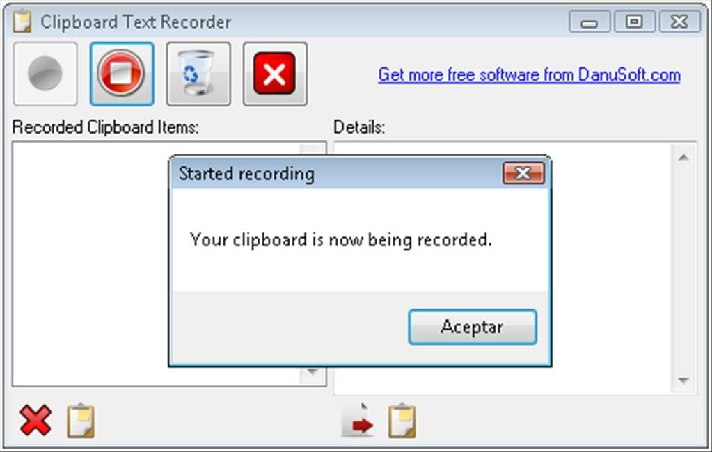 Clipboard Text Recorder image 3