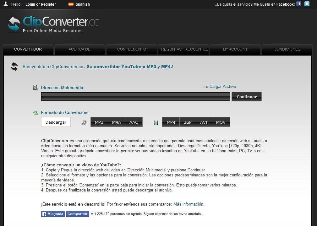 Clipconverter online portugus grtis clipconverter imagem 1 thumbnail ccuart Images