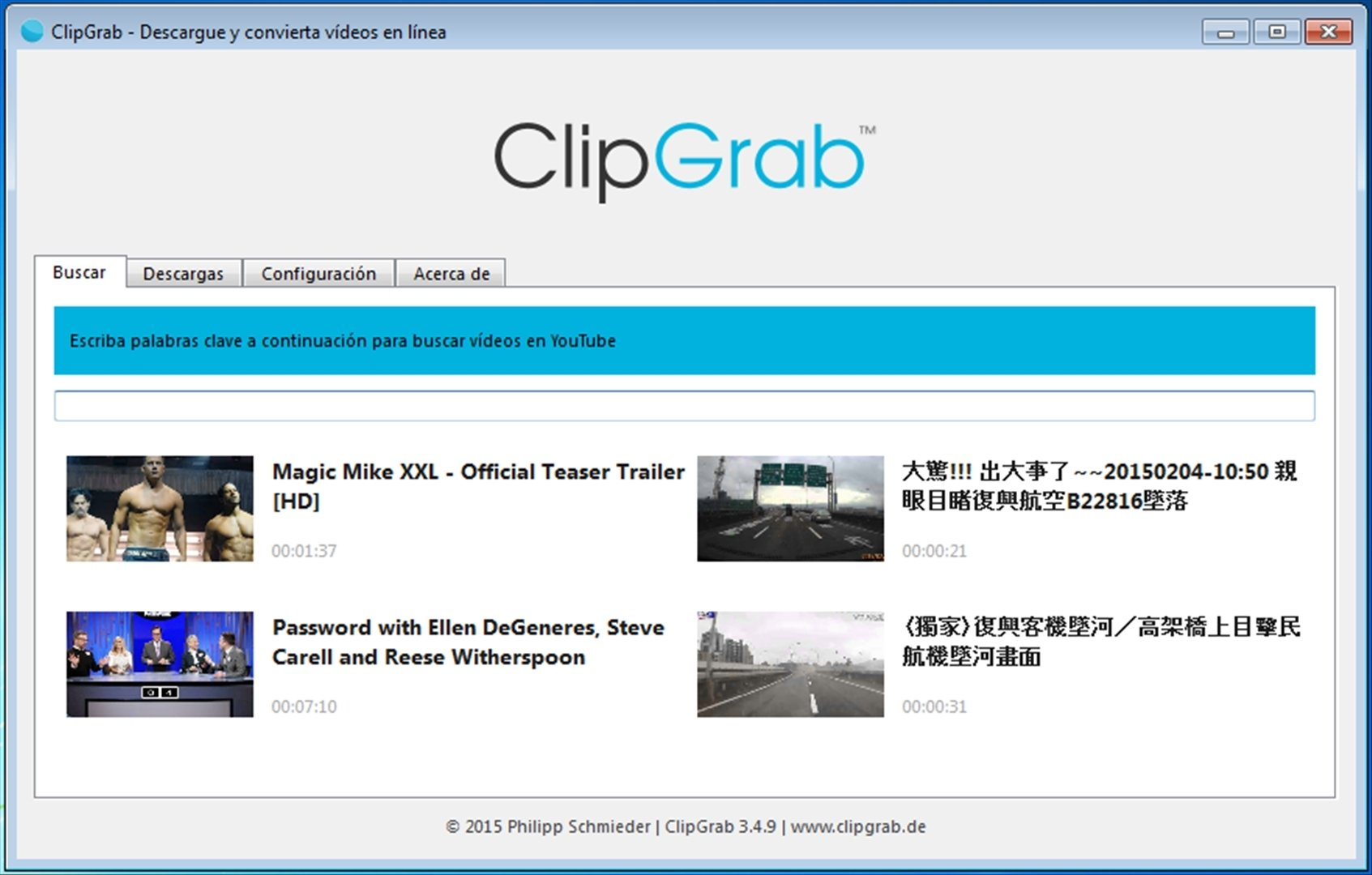 ClipGrab 3 8 2 - Download for PC Free