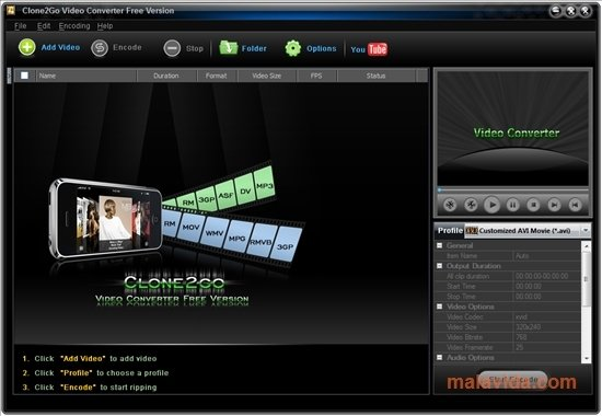 Clone2Go Video Converter image 6