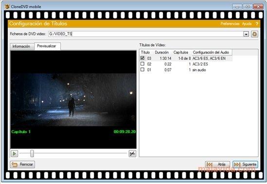 CloneDVD Mobile 1.9.5.0 - Descargar para PC Gratis  Clonedvd