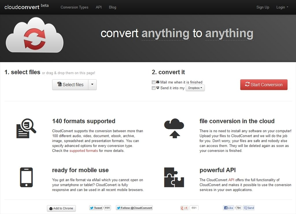 CloudConvert Webapps image 4