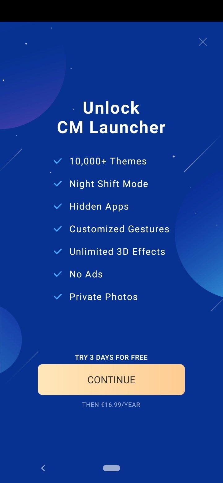 Cm Launcher 3d テーマ壁紙 5 99 0 Android用ダウンロードapk無料