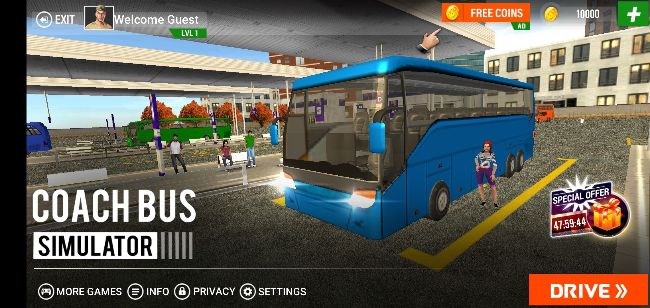 Coach Bus Driving Simulator 2018 3 7 - Download for Android