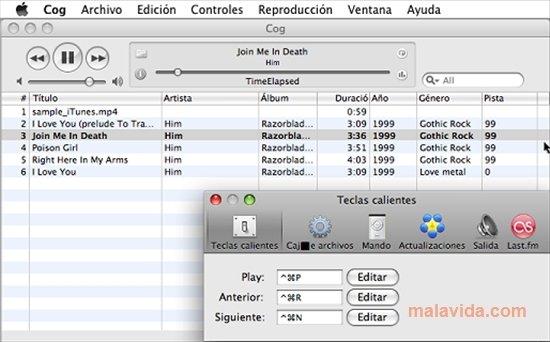 Cog 0 07 - Download for Mac Free