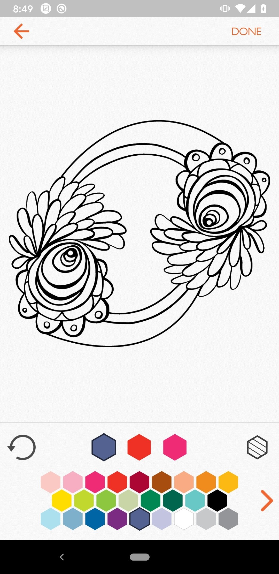 Colorfy Coloring Book For Adults Image 9 Thumbnail