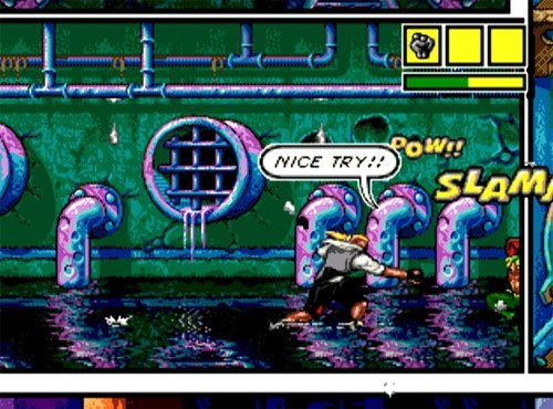 [Análise Retro Game] - Comix Zone - Genesis Comix-zone-19496-3
