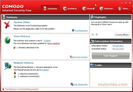 Free Internet Security >> Comodo Internet Security Premium 12 Download For Pc Free