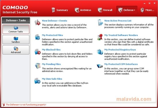 Comodo Internet Security Premium 12 - Download for PC Free